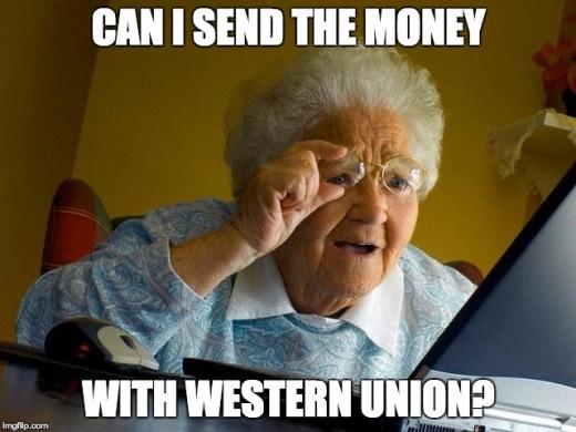 """Grandma, can you contribute $25k to my kickstarter campaign?"""
