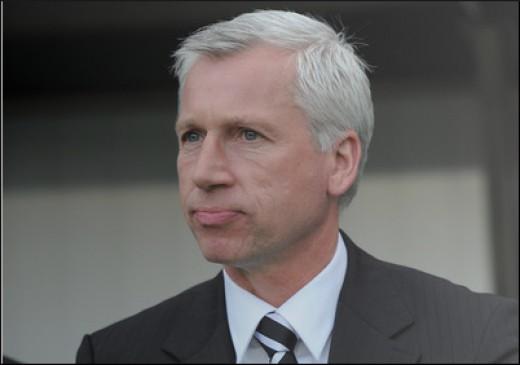 Alan Pardew:  Crystal Palace Manager.