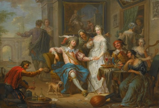 The Prodigal Son Spent His Money in Riotous Living by Franz Christoph Janneck