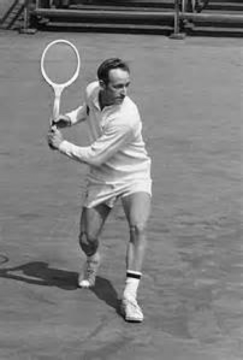 Rod Laver is one of the All-Time greats in the world of tennis. He had all aspects of the game down to a tee.