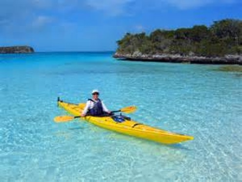 Kayaking can be fun and a wonderful exercise also. I have never done it but I have seen it when I have been to the lake.