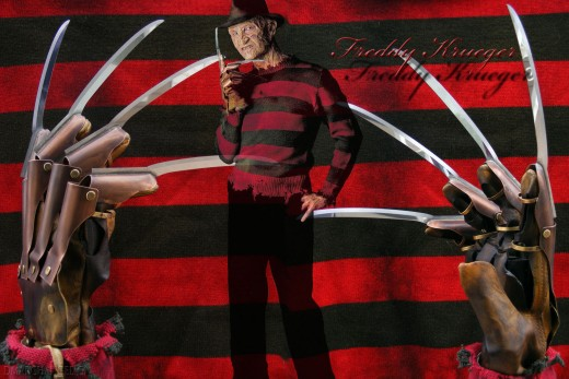Freddy Krueger from A Nightmare on Elm St