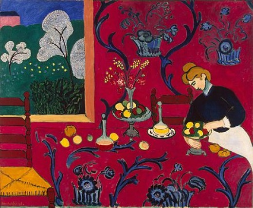 Henri Matisse, The Dessert Harmony in Red