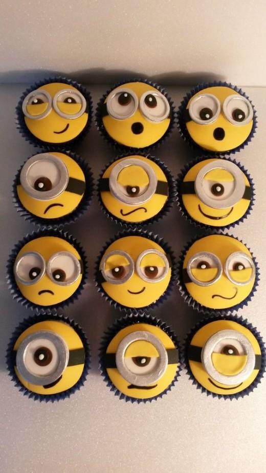 A minions birthday cake