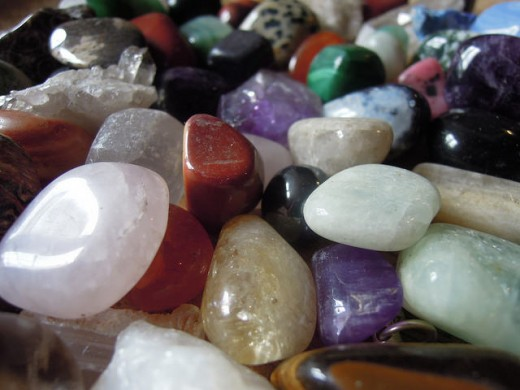 Crystals have many beneficial properties for our health and well-being.