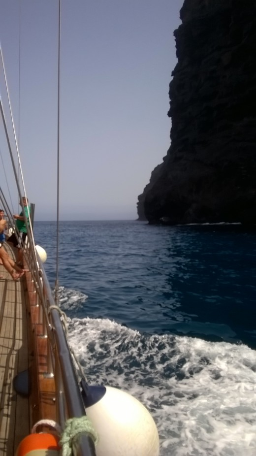 A sea journey will be one of the highlights of your holiday