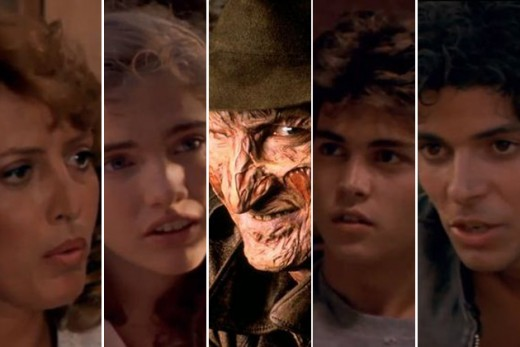 The cast of Nightmare on Elm Street