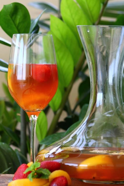 Soda alternative - fruit tea