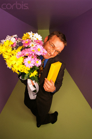 """Girls hate it when guys do the obvious like bringing them huge bouquets of flowers, six pounds of candy and them wearing that """"smart alec"""" grin."""