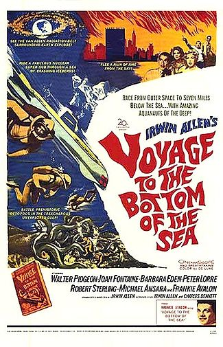 Voyage to the Bottom of the Sea, Theatrical Movie Poster.