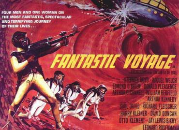 Fantastic Voyage Movie Poster by Tom Beauvais