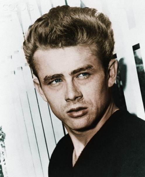 Hollywood heart throb, James Dean.