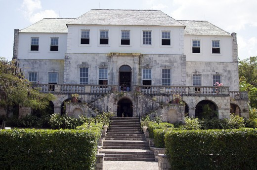 A Reconstructed Rose Hall in Jamaica, Home of the White Witch