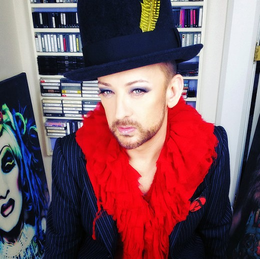 Boy George said Martin was a gentleman.