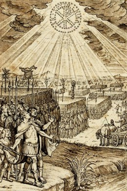 "Constantine's vision and his ""holy"" war."