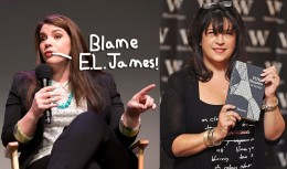 Stephenie Meyer's amateur writing 'accidentally' inspired EL James to write the equally-harmful series, Fifty Shades of Grey.