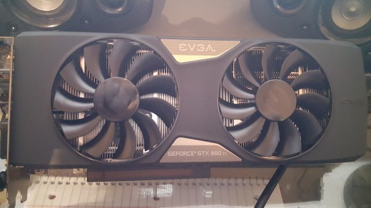 A photo of my EVGA GTX 980ti SC+