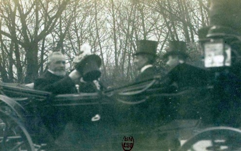President Emile Loubet in 1899