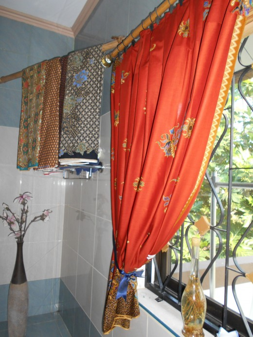 Bathroom Batiks - Indonesia.