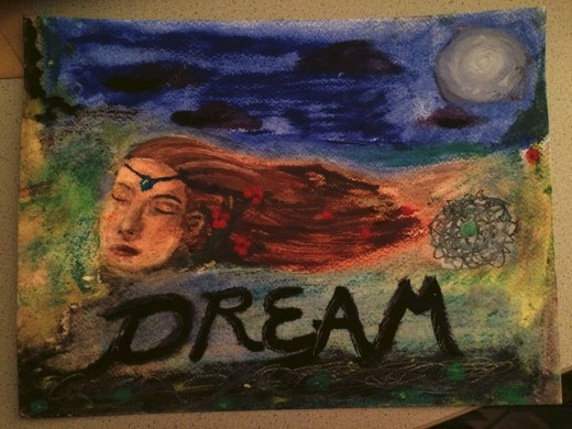 """My own painting: """"Dream"""""""