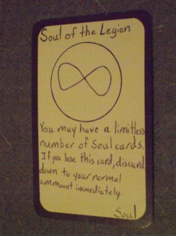 Custom Card Ideas: Soul of the Legion & Soul Brand