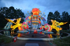 The Lantern Festival at the Missouri Botanical Garden