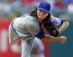 Ace Pitcher, Jacob deGrom, a rising star.