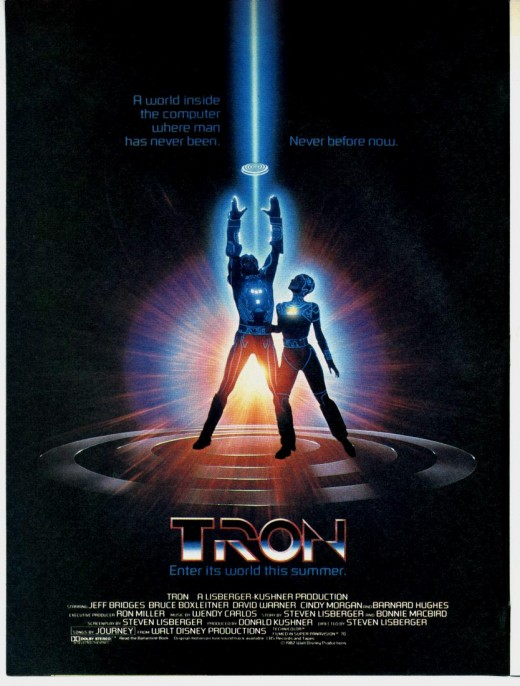 "Poster for ""Tron"""