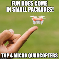 Best 4 Small Quad Copters under $50 for 2016