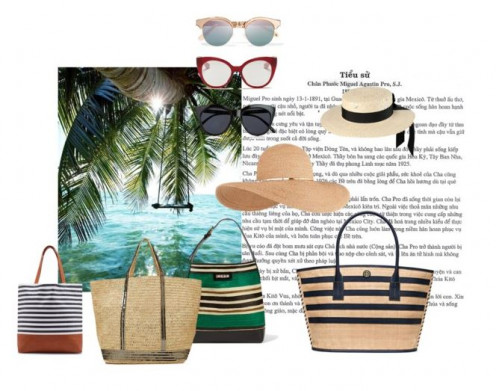 Cool accessories for taking with you, to the islands in the sun.