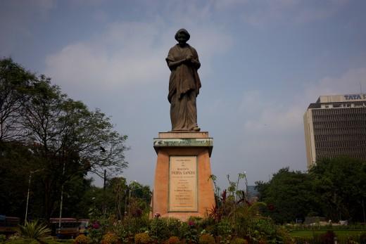 Monument to Indira Gandhi, Victoria Garden, Kolkata