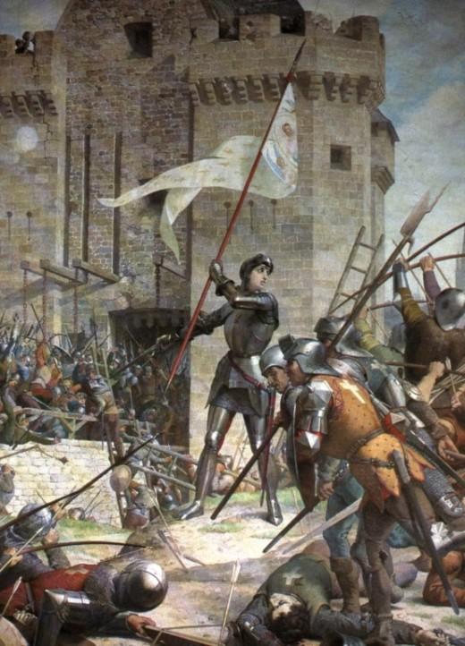 Jeanne d'Arc au siège d'Orléans Jules Eugène Lenepveu