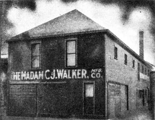 Madam CJ Walker Manufacturing Company, Indianapolis, Indiana 1911