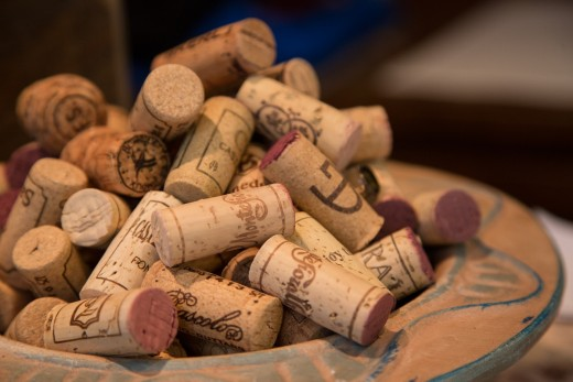 I've been twenty-one for four months. I swear all those corks isn't mine.