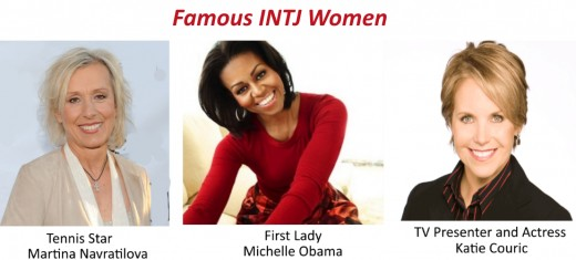 Famous INTJ women come in all shapes and sizes: sports stars, first ladies, and actresses!
