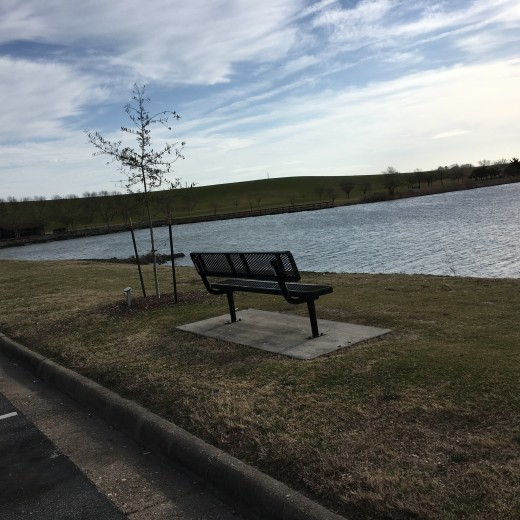 My community has a great running park not too far from where I live. It is a two mile path around a lake with stops for physical fitness every so often. Perfect for when its too windy for the beach.