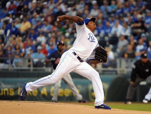 Yordano Ventura, one of the best arms in Major League Baseball.