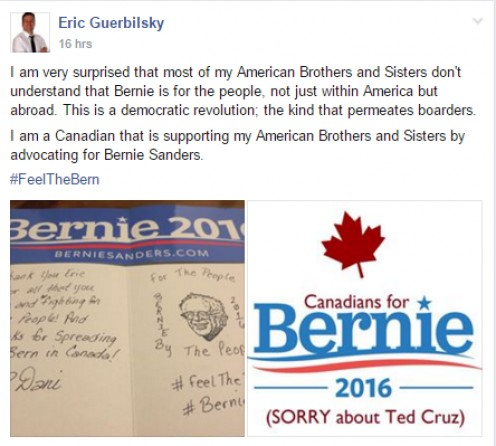 Permission given by Eric Guerbilsky to share his story.