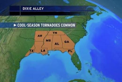 """Dixie Alley"""
