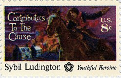 The Teenage Paul Revere in a Skirt: Sybil Ludington