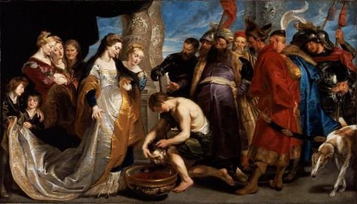 Tomiris by Rubens