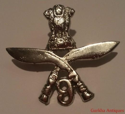 Ghurka Regimental Badge
