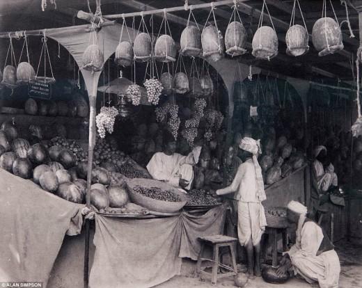 Indian Bazaar.