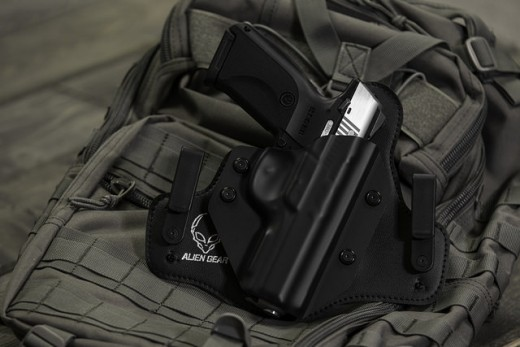 A popular hybrid style inside the waistband holster for concealed carry.