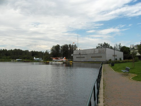 Float Plane Terminal, South Porcupine, Timmins, Ontario.