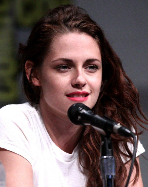Kristen Stewart at the San Diego International Animation Exhibition in year 2012.