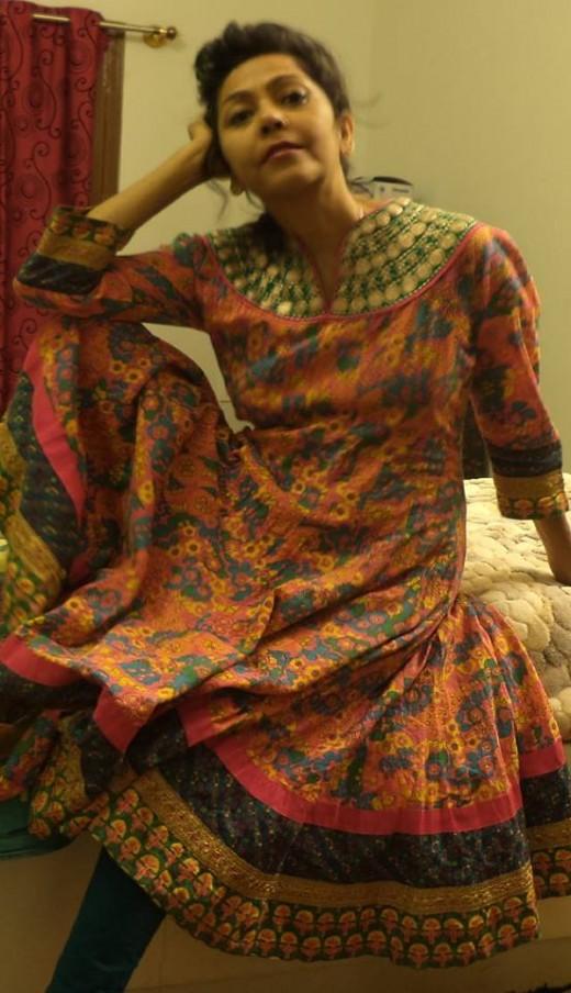 My Lovely Anarkali Kurta From Flipkart