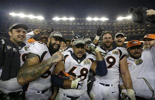 Broncos at Super Bowl 50