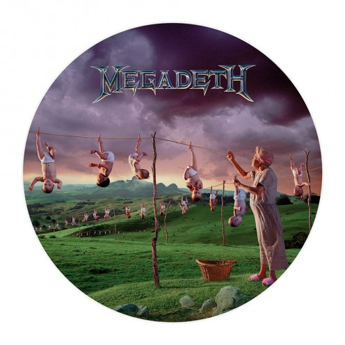 There is a kind of symbolism on the album's cover. The photo of the babies hanging down symbolizes the decline of the band on a musical level.