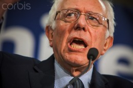 Sen. Bernie Sanders, a candidate vying for the Democratic nomination in the race for The Presidency.